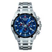 Swiss Alpine Military Herren Uhr Chrono 7043.9135SAM Edelstahl