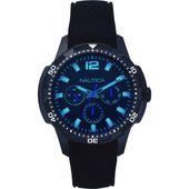 Nautica Herren Uhr Armbanduhr NAPSDG003 Silikon