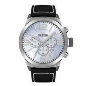 TW Steel Herren Uhr Armbanduhr Chrono Marc Coblen Edition TWMC34 Lederband