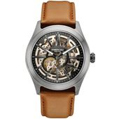 Kenneth Cole New York Herren-Armbanduhr Automatik Leder 10030817 001
