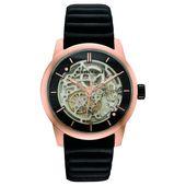 Kenneth Cole New York Herren-Armbanduhr Automatik Leder 10030789