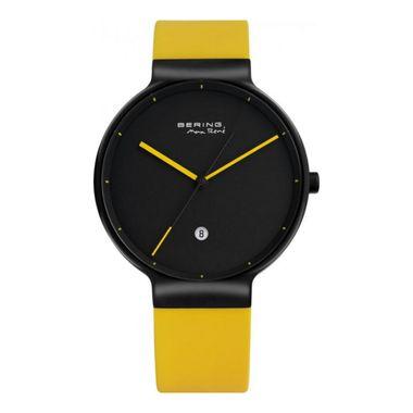 Bering Herren Uhr Armbanduhr Max René UltraSlim - 12639-827 gelb
