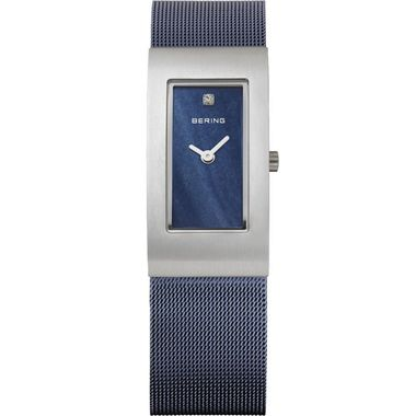Bering Damen Uhr Armbanduhr Slim Classic - 10817-307 Meshband