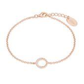 s.Oliver Jewel Damen Armband Silber Rosé Zirkonia 2022753
