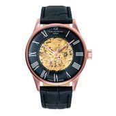 Carl von Zeyten Herren Uhr Armbanduhr Automatik Feldberg CVZ0011RBK