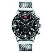 Swiss Alpine Military Herren Uhr Chrono 1746.9137SAM Edelstahl