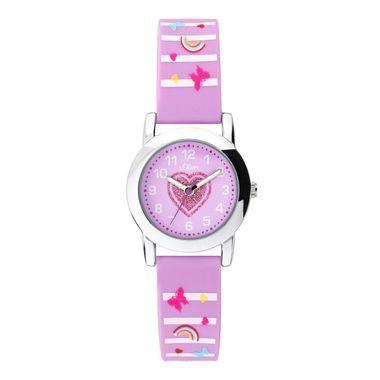 s.Oliver Uhr Kinder-Armbanduhr Kids Mädchen SO-3725-PQ