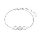 s.Oliver Jewel Damen Armband Armkette Silber Zirkonia 2024214
