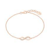 s.Oliver Jewel Damen Armband Armkette Silber Rosé Infinity 2024290