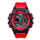 Fila Herren Uhr Armbanduhr Digital Sport 38-188-002 Silikon