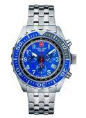 Swiss Alpine Military Herren Uhr Chrono 7076.9135SAM Edelstahl