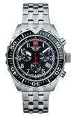 Swiss Alpine Military Herren Uhr Chrono 7076.9137SAM Edelstahl