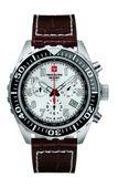 Swiss Alpine Military Herren Uhr Chrono 7076.9532SAM Leder