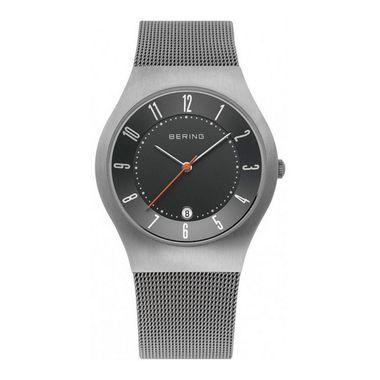 Bering Herren Uhr Armbanduhr Slim Classic - 11937-377-1 Meshband
