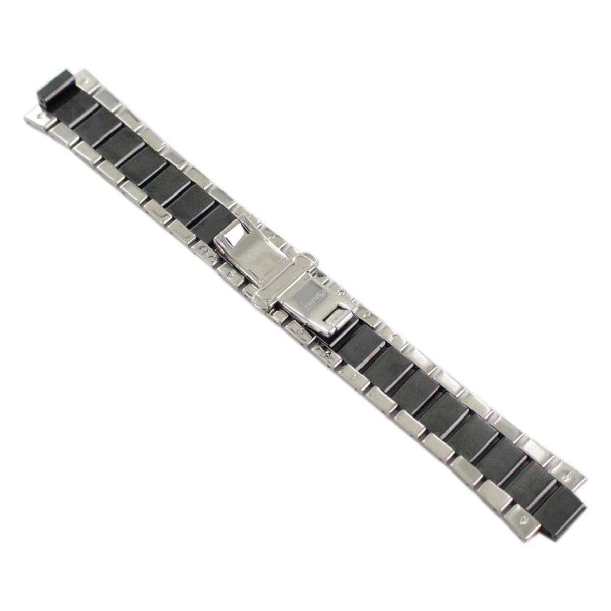 18mm Uhrenarmband Faltschließe BRAUN S-W