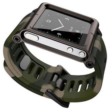 TikTok Multi-Touch Armband Sportarmband LTGMT-005 Silikon grün / grau