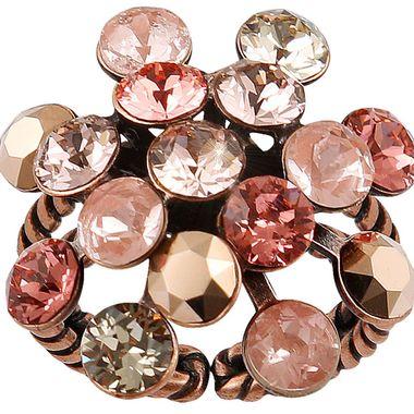 Konplott Ring Magic Fireball pink antique Cooper