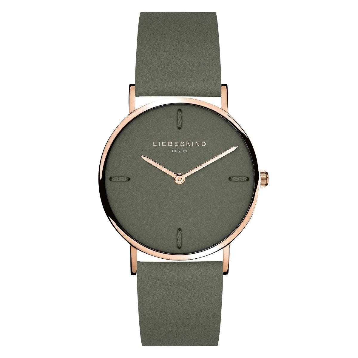 LIEBESKIND BERLIN Damen Uhr Armbanduhr Leder LT-0042-LM
