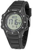 SINAR Jugenduhr Armbanduhr Digital Quarz Unisex Silikonband XR-12-1 schwarz