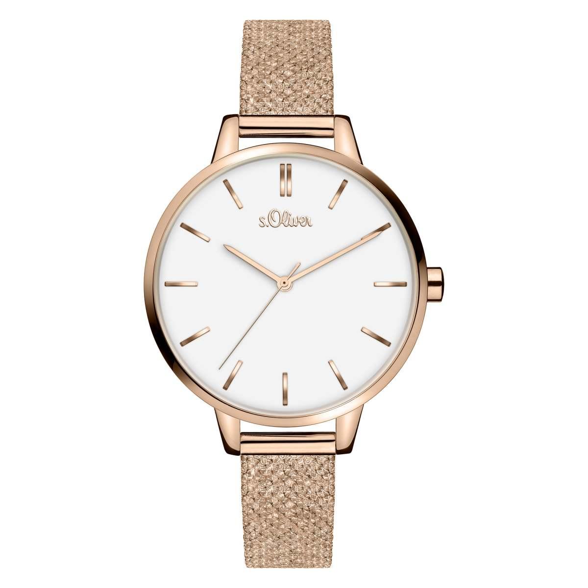 s.Oliver Damen Uhr Armbanduhr SO-1248-LQ