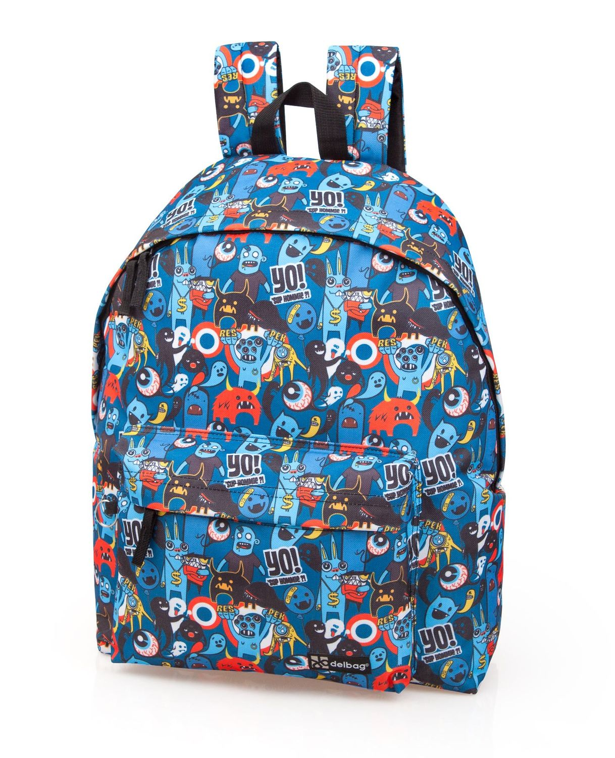 Delbag Trendy Monster Backpack