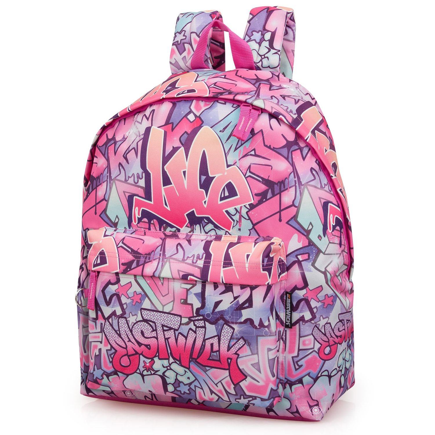 Eastwick Trendy Girls Pink Backpack