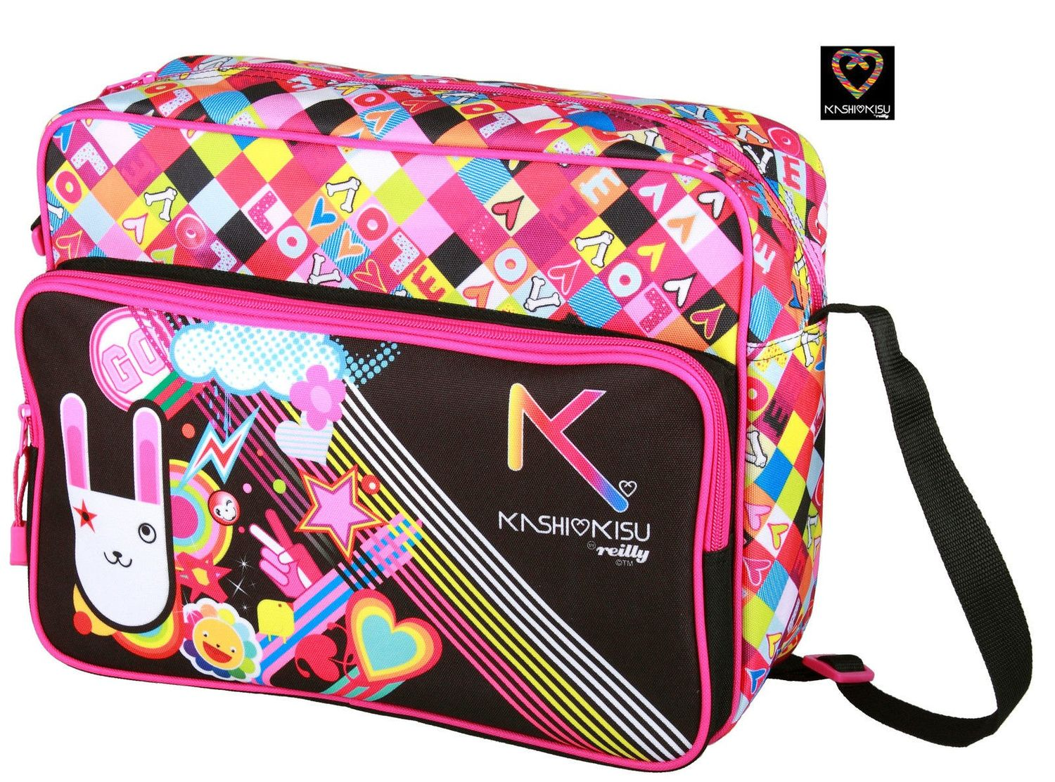 Girls Messenger Cross Body Bag
