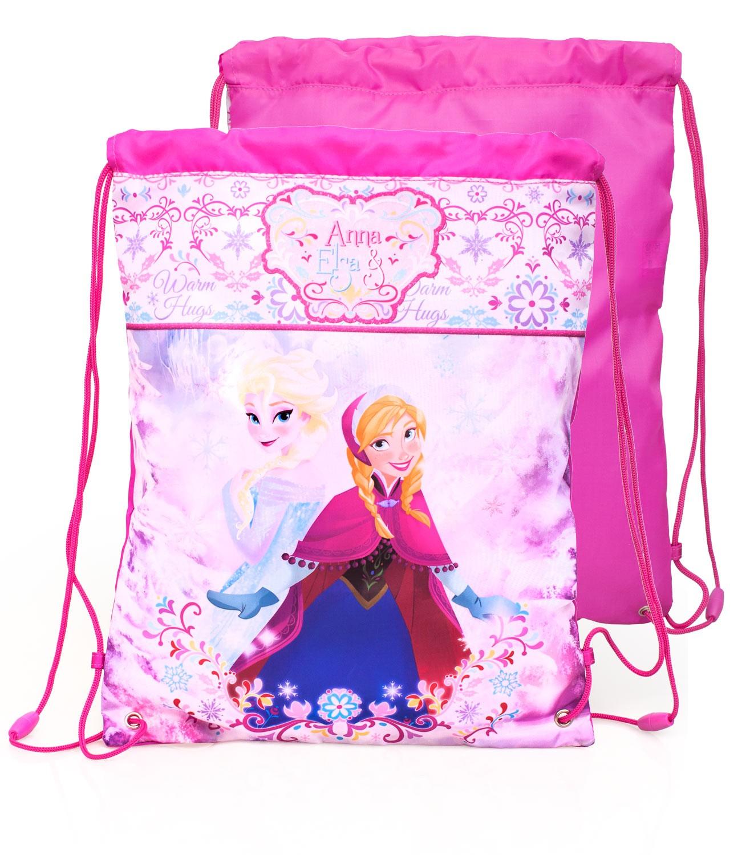 Disney Frozen Sisters Pinky Drawstring Bag