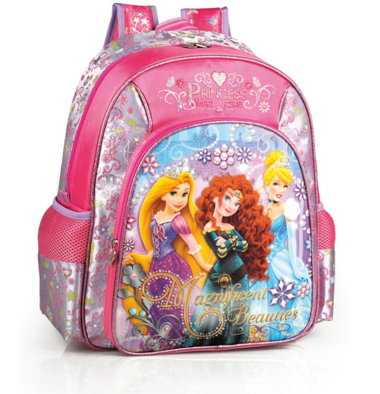 Disney Princess Magnificent Premium Girls Junior Backpack – image 1