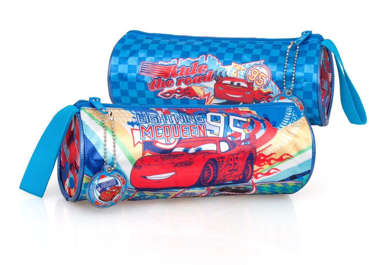 Disney Cars Round Tube Pencil Case