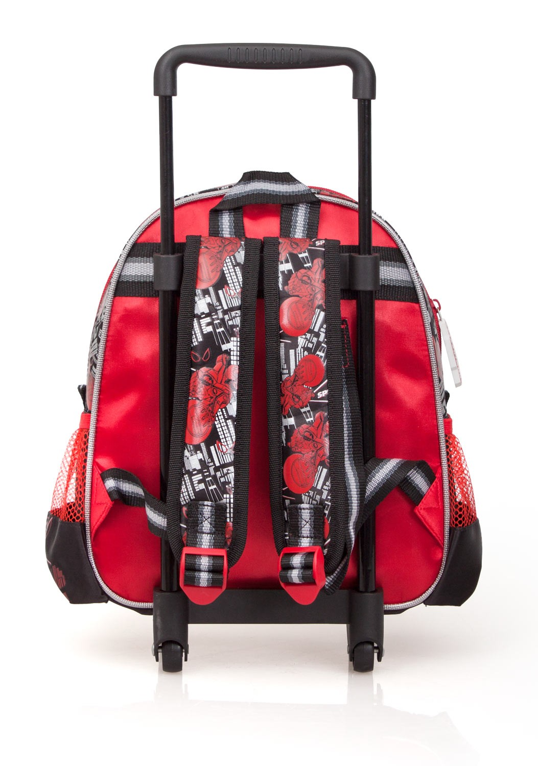 Spider Man Junior Backpack W Trolley Spider Cycle – image 2