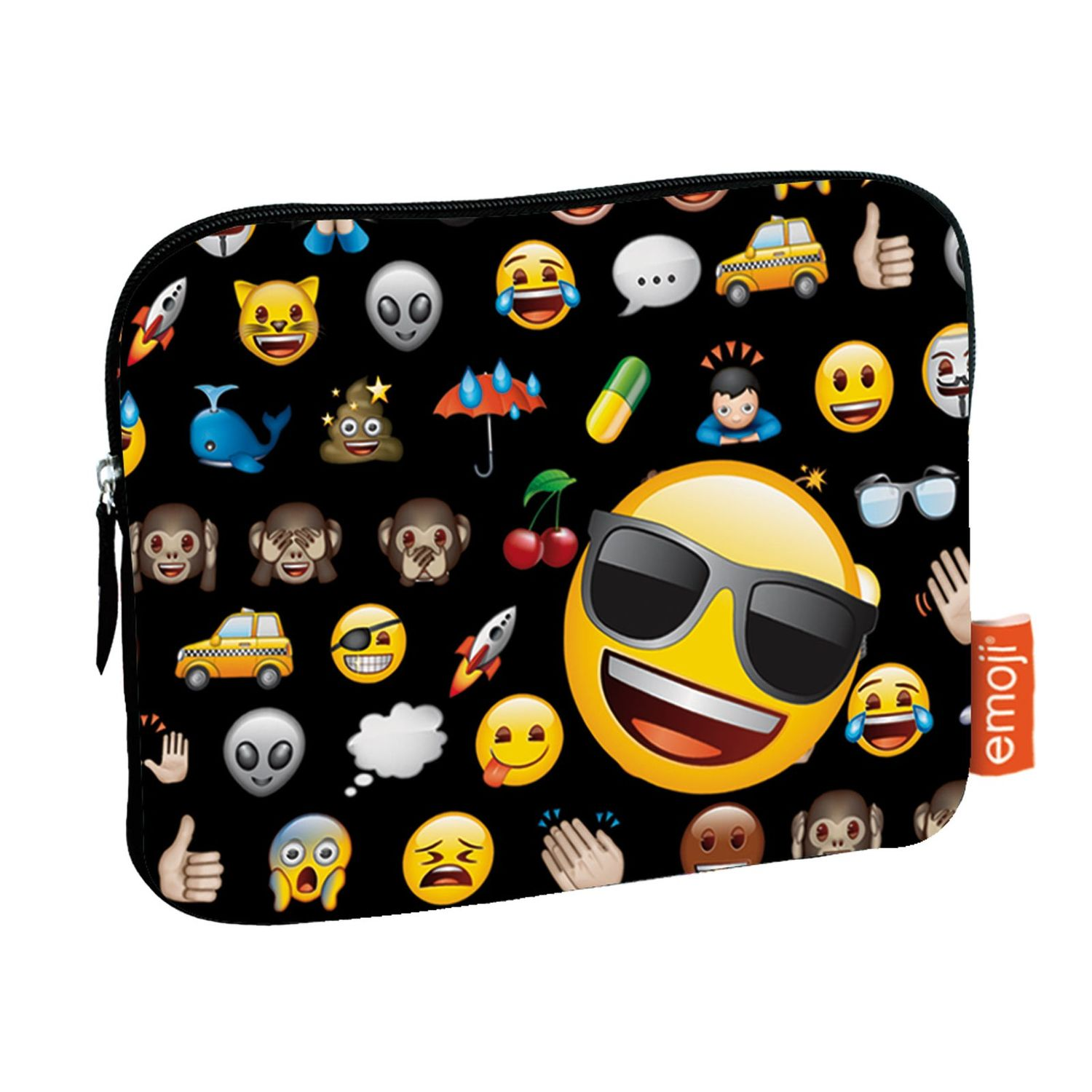 Emoji Smile Tablet Sleeve Case