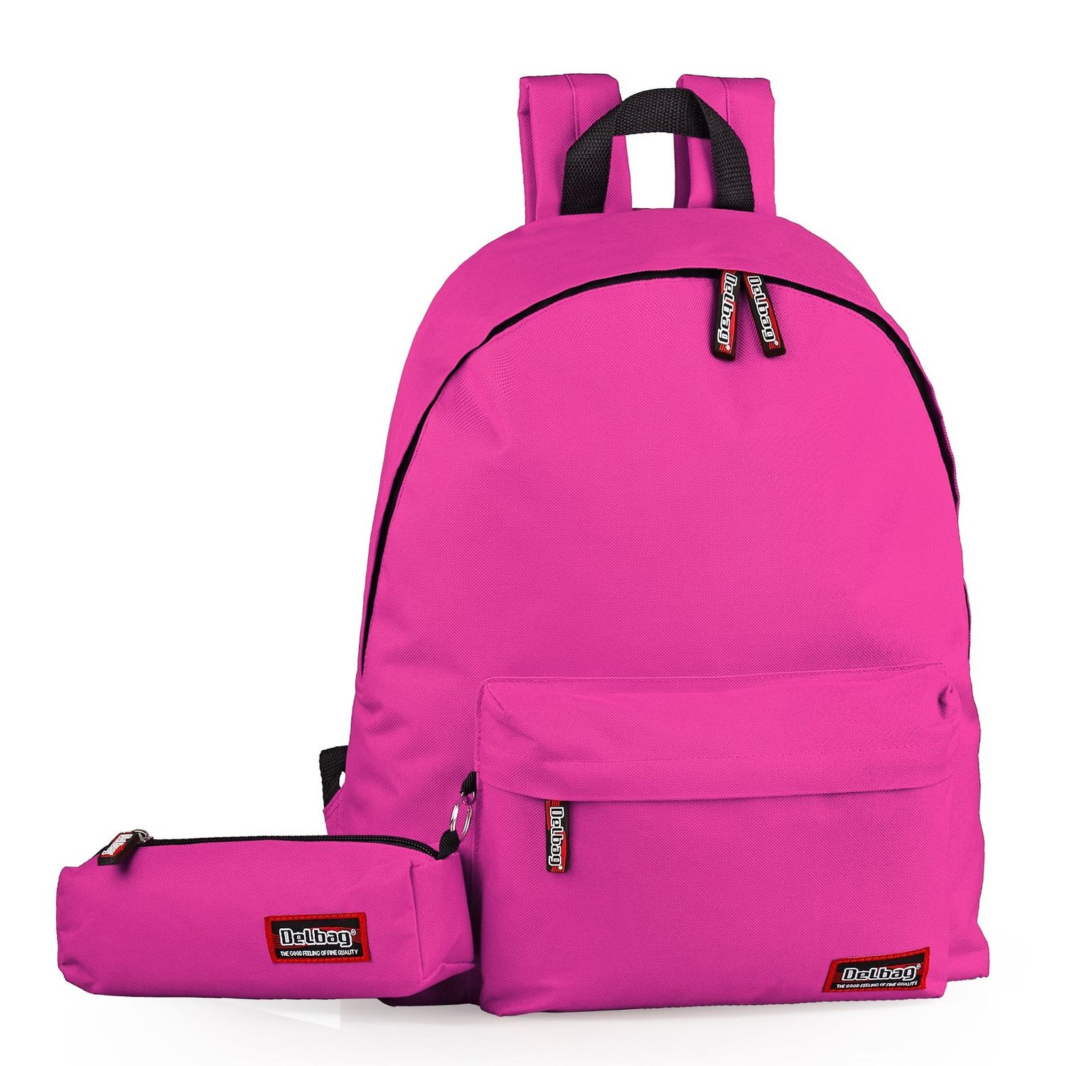 Delbag Large Backpack With Pencil Case Set – image 6