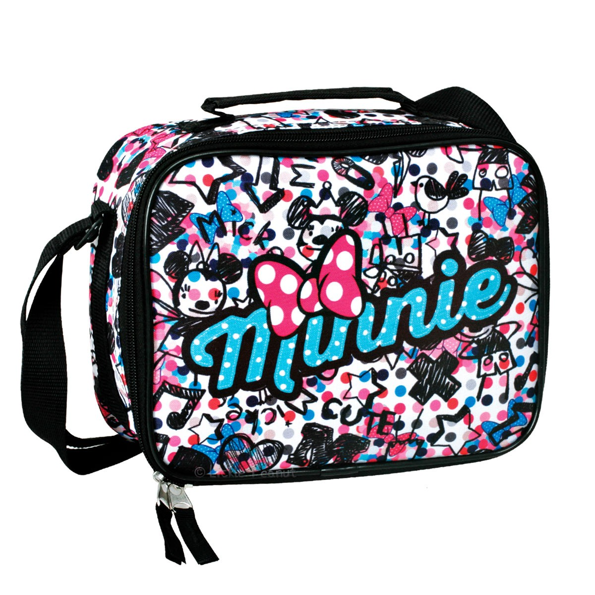 Minnie Mouse DRAW Cooler Lunch Bag