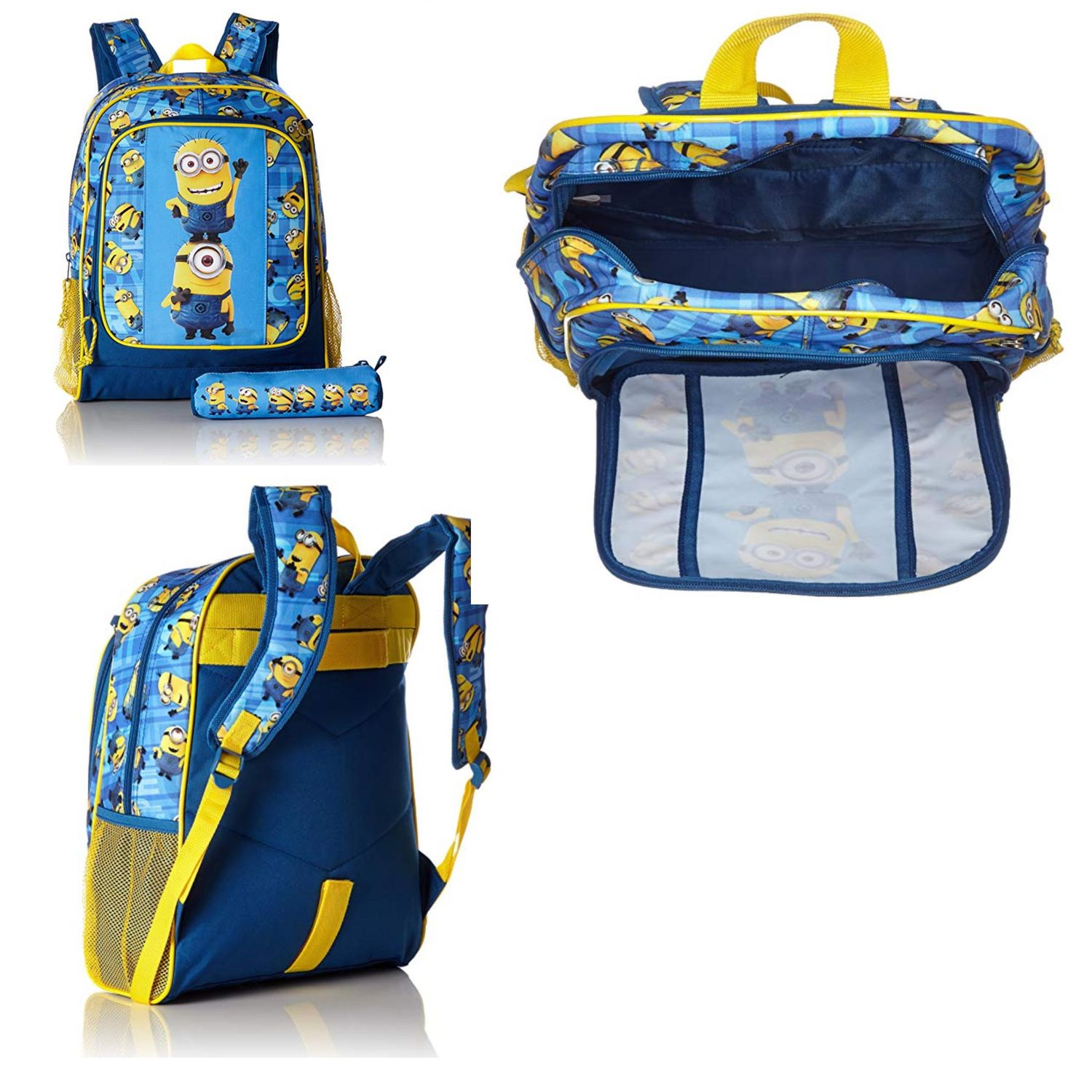 Minions Blue Large Backpack + Pencil Case – image 2