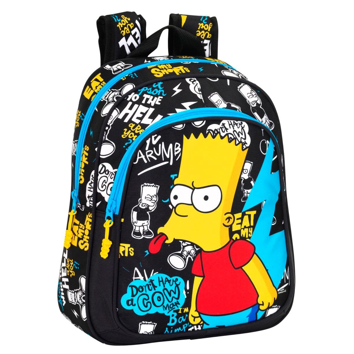 Premium Bart Simpson Backpack Small 3b1cc7634db21