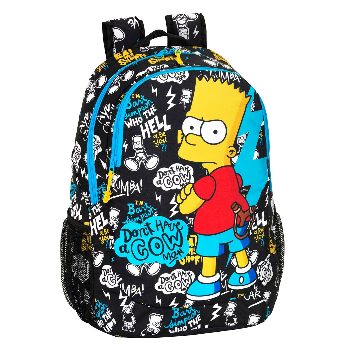 Premium Bart Simpson Backpack Day Pack Large 8bdbfbd7620e1