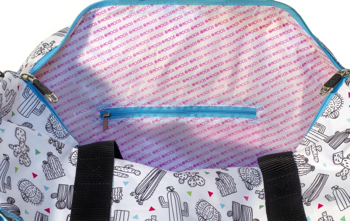 Designer Moos Cactus Roll Travel Bag + FREE SELFIE STICK – image 3