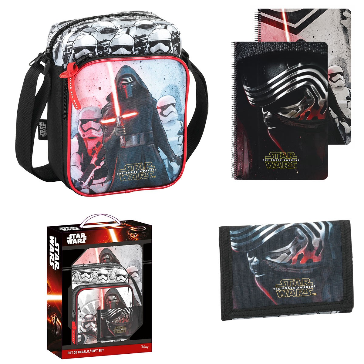 Star Wars Kylo Ren 3 Piece Gift Set  – image 1
