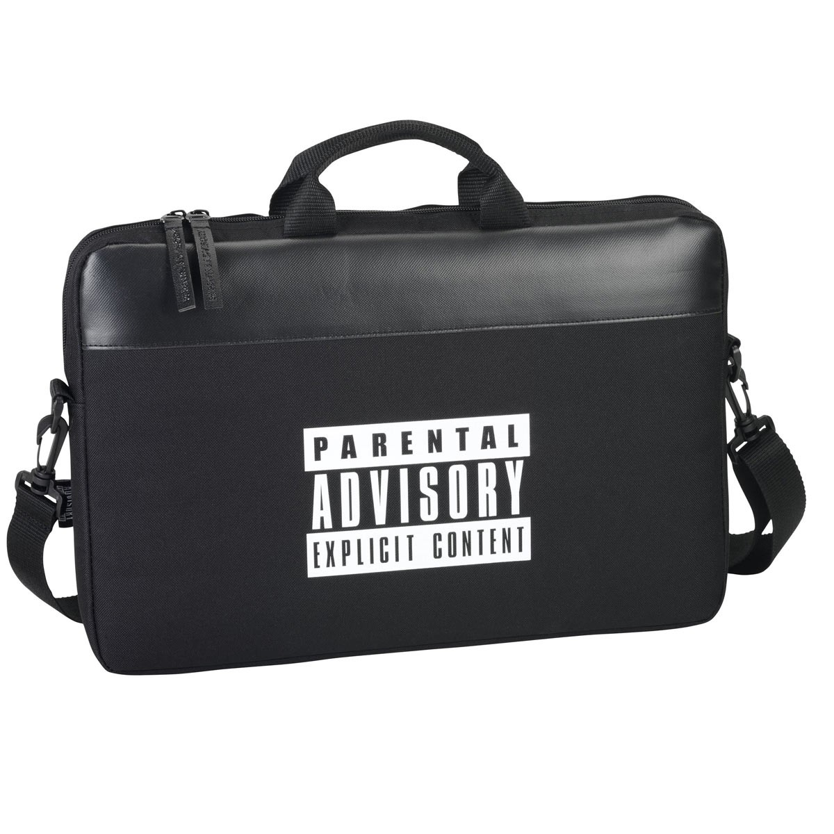 OFFICIAL Parental Advisory Messenger Laptop Bag 15.6'' Inch Devices