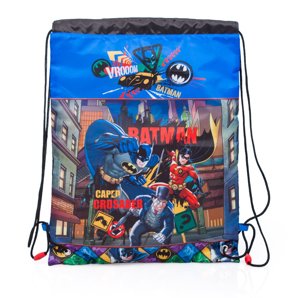Premium Batman Drawstring Shoe Bag