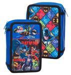Premium Batman Triple Filled Compartment Pencil Case 001