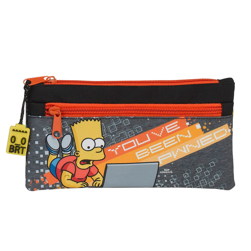 The Simpsons Bart Simpson Pencil Case Pwned