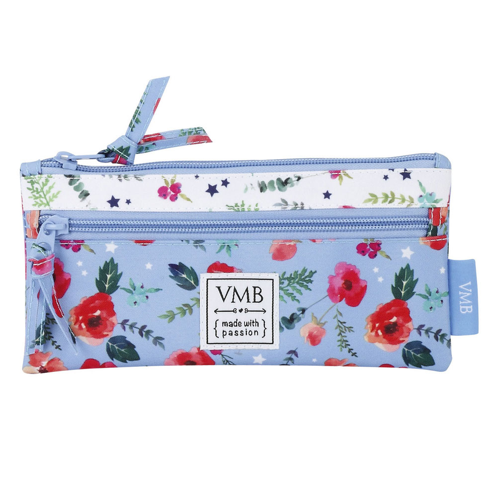 Vicky Martin Berrocal Pencil Case With 2 Zippers