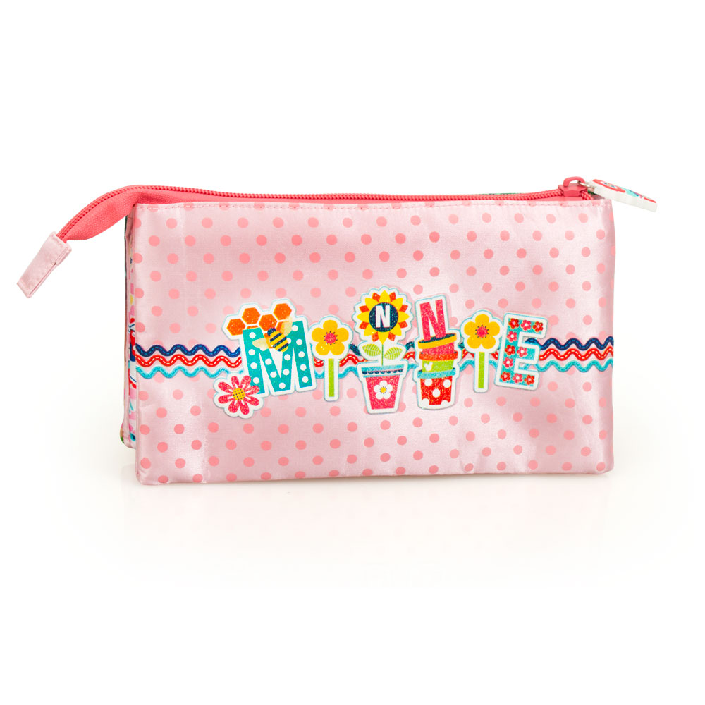Minnie Mouse Happiness Premium Triple Pencil Case – image 2