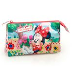 Minnie Mouse Happiness Premium Triple Pencil Case 001