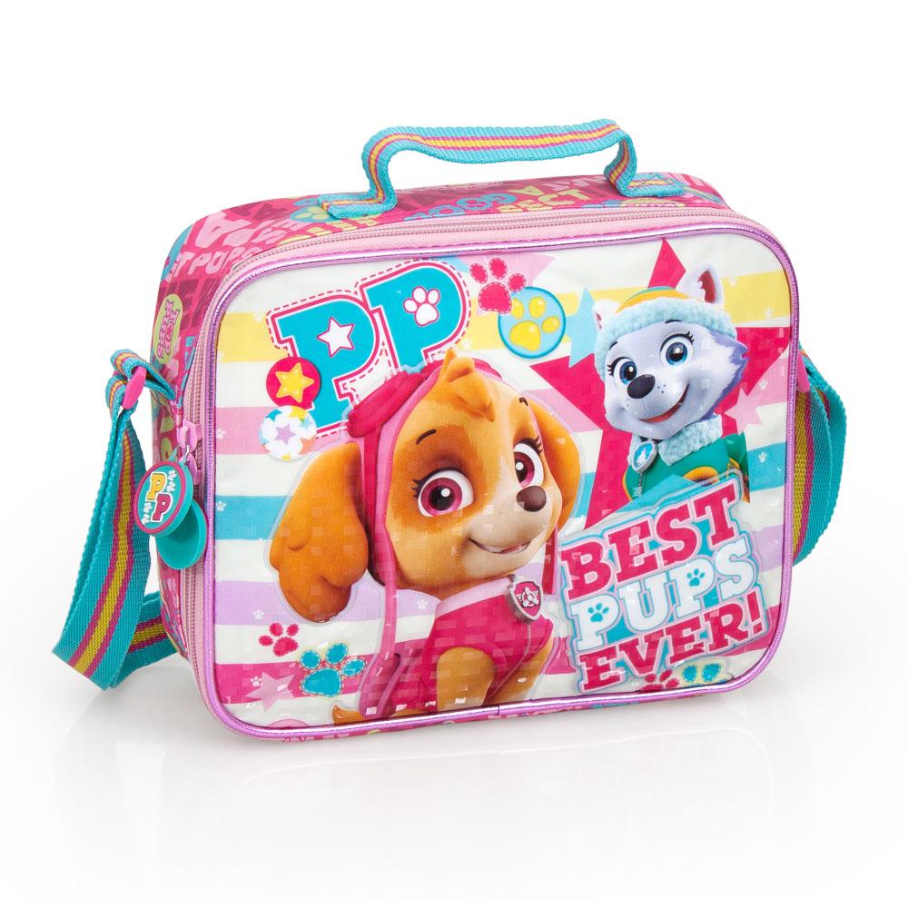 Paw Patrol BPE Premium Pink Lunch Bag – image 1