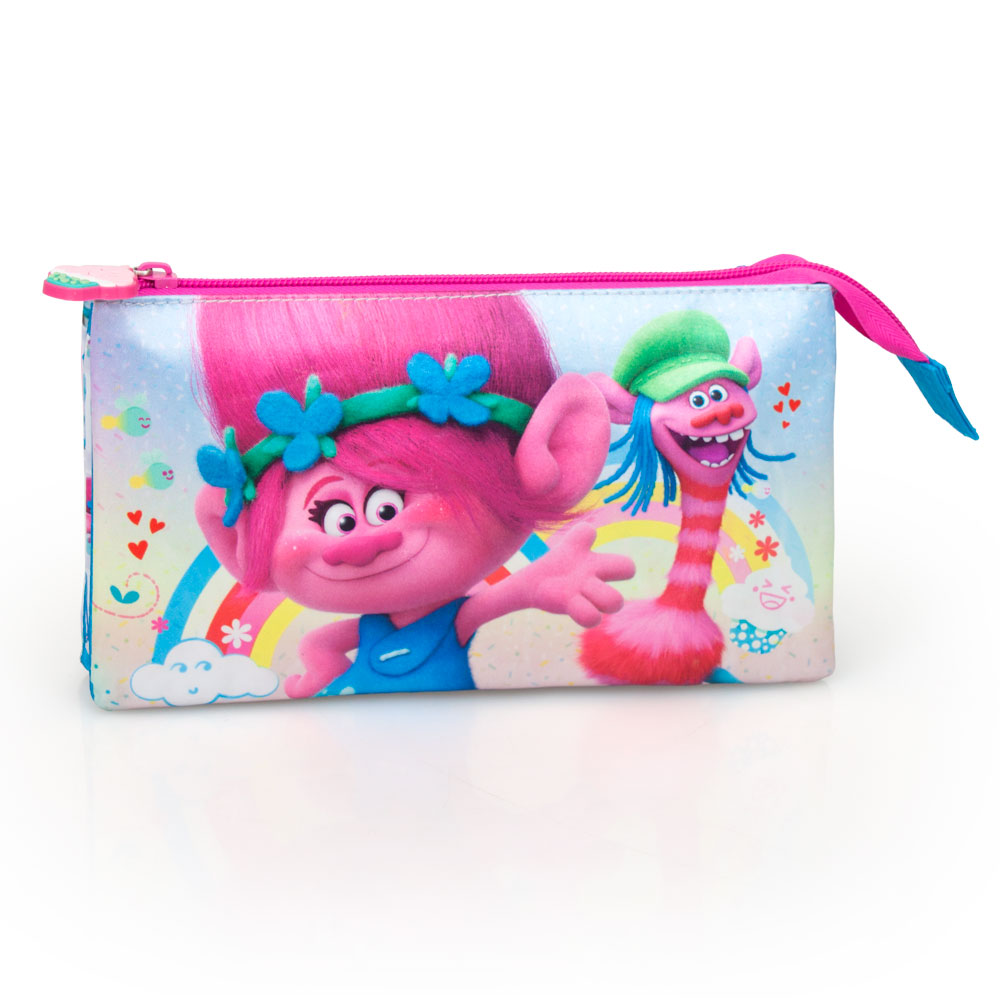 Trolls Poppy Premium Triple Pencil Case