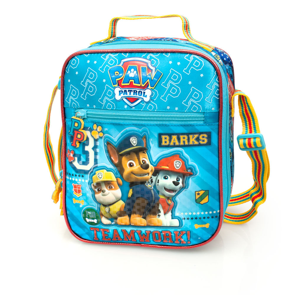 1bc3fbe8716 Paw Patrol Premium Blue Cooler Lunch Bag
