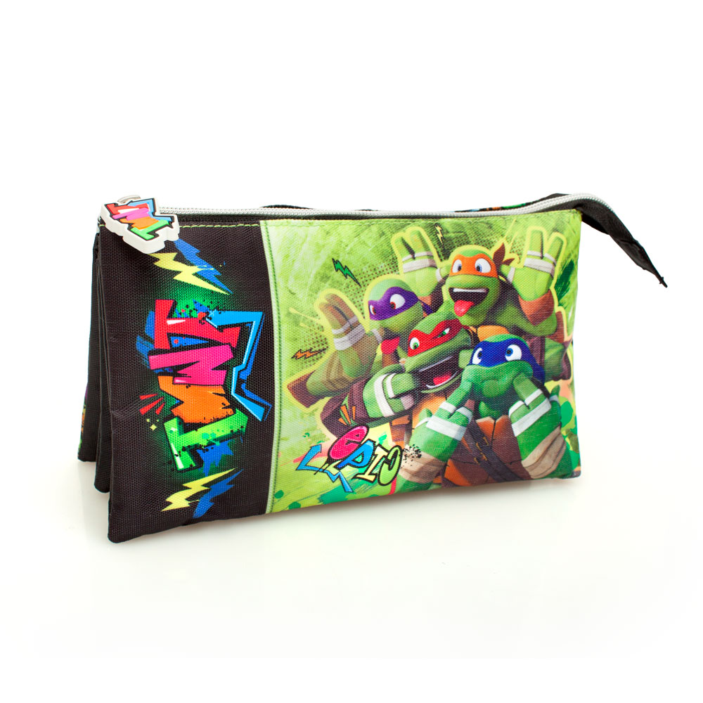 Ninja Turtles Premium Triple Pencil Case – image 1